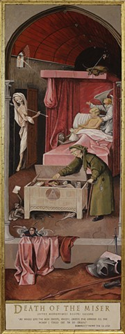 Death of the Miser (after Bosch)