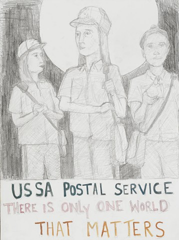 USSA Postal Service, There is only one world