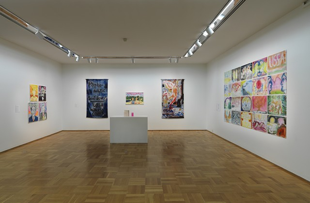 "Installation view of ""Snow"""