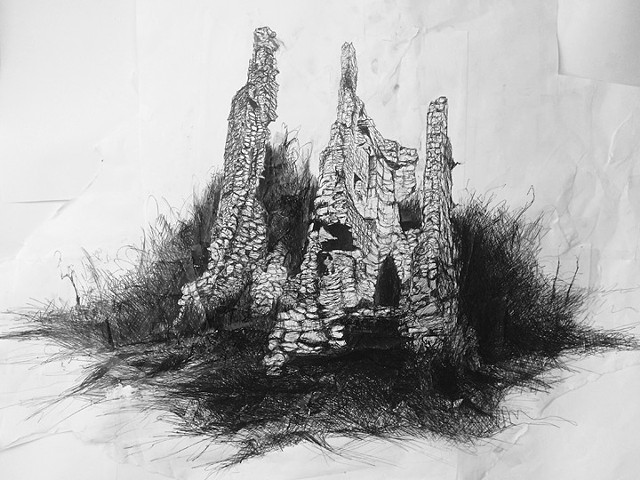 The Ancient And Domestic Architecture of Scotland: The Black Castle of Maul
