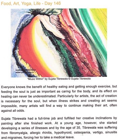 Artful Vagabond: Serena Kovalosky Food, Art, Yoga, Life - Day 146