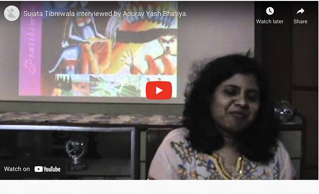 "Sujata Tibrewala interview on ""I Have a Voice"""