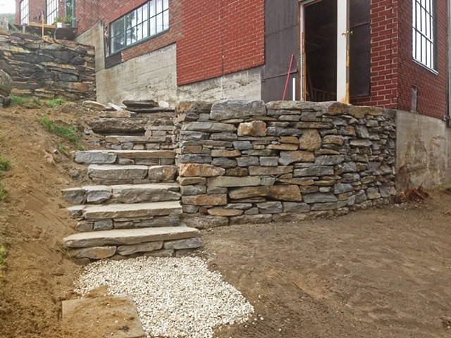 Johnson Retaining Wall (a)