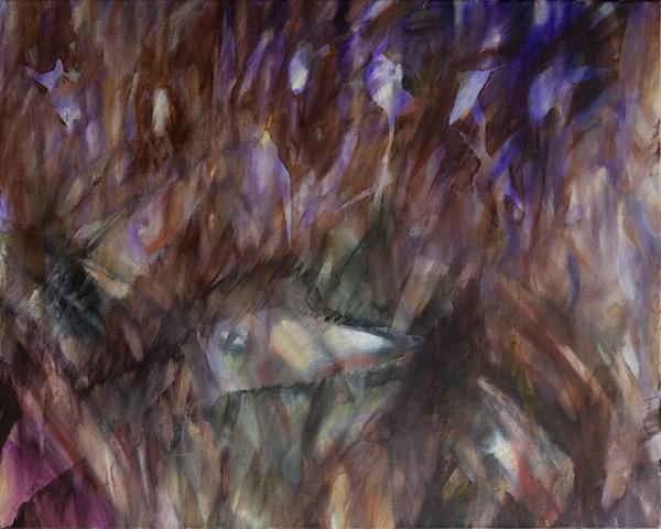 Purple Lights Illuminate the Swamp