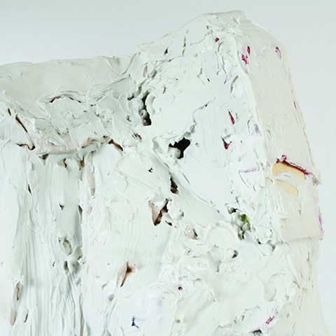 silicone, latex, wood, paper, metal, fabric 38 x 20 x 15 in.