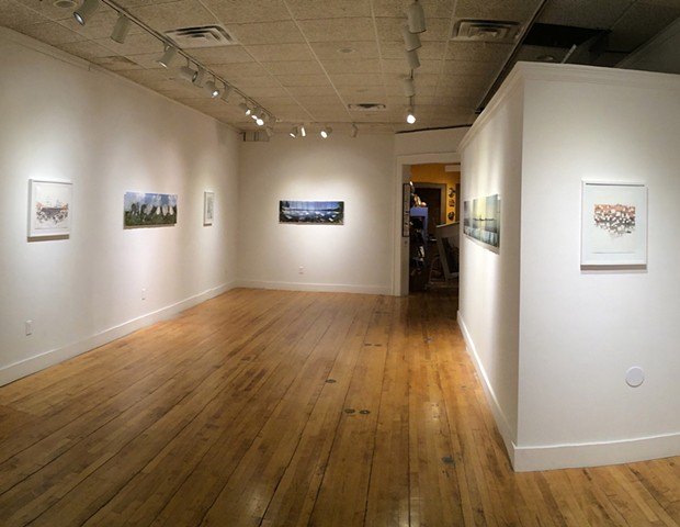 'Horizon Lines', Downtown Gallery, Kent, OH