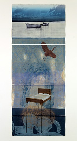 Susanne Mitchell, art, artist, drawing, painting, printmaking, monotype, narrative art. Images of memory, place and dream.