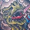 Dinosaur Alien Battle