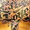 Faith, Hope, Love Heart/Dagger