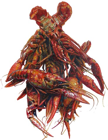Pile of Crayfish