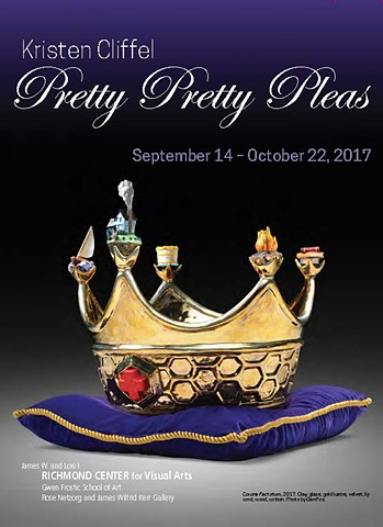 Pretty, Pretty, Pleas solo exhibition at the University of Western Michigan