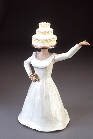 The Bride, teapot