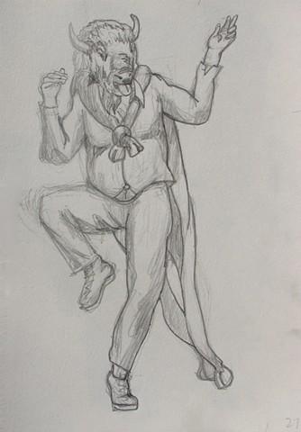 Bufallo Dancer 6