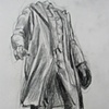 Replica Bronze of Headless Vladimir Lenin, Las Vegas, from Sketchbook No. 20