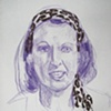 Penelope Keith, from Sketchbook No. 20
