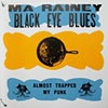 Ma Rainey's Lucky Rock Black Eye Blues, front cover