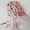 MaryAnne Tom, from Sketchbook No. 20