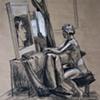 Interior with Female Nude