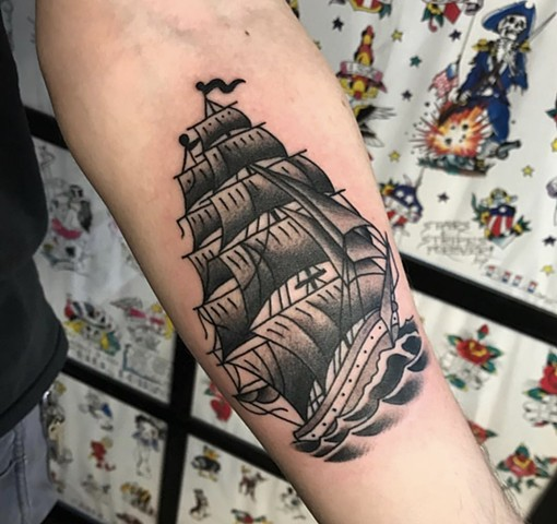 B&G Clipper Ship