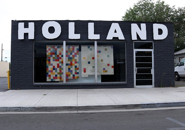The House of Representatives of the United States in the 116th Congress in Two Quilts (One for Each Party) at the Holland Project Window Gallery