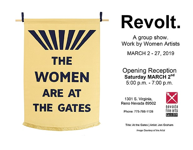 Revolt: A Group Show of Work by Women Artists