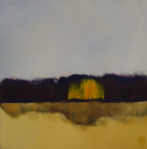 abstract landscape painting