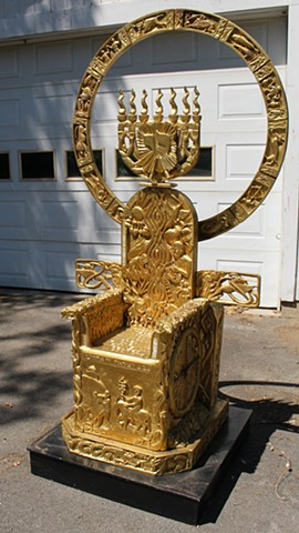 Throne, view 2