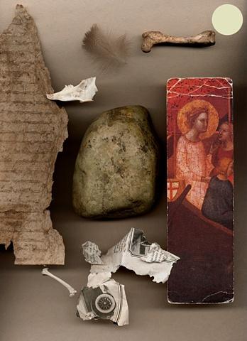 scanned art, scanography, scanograms, collage, fine art, JoAnn Baker Paul