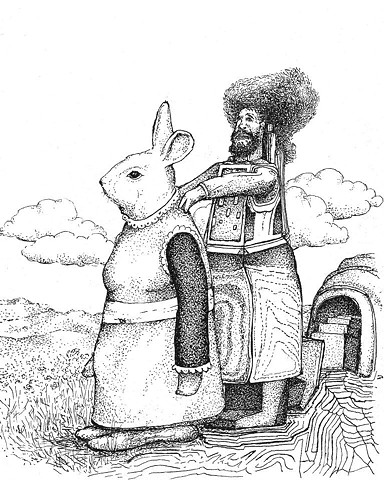 rabbit massage robot cossack