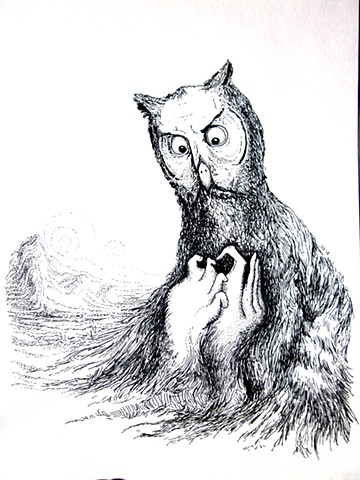 dostoevsky owl clutching fists tree
