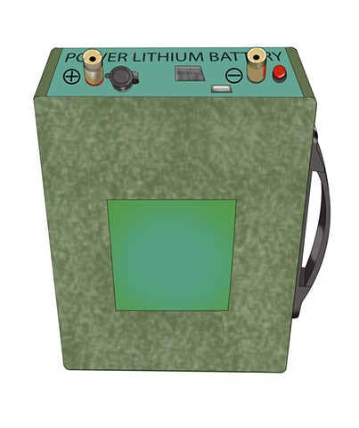 GoBatery 60A-160A Lithium Battery Illustration 1