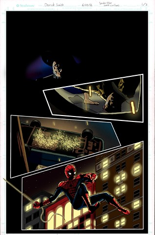 "MCU's ""Spider-Man"" saving civilians. Page 1 of 3"