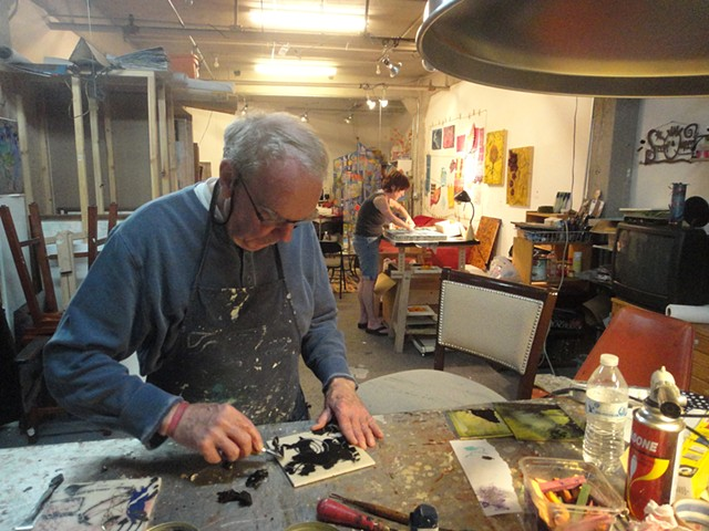 Frank Crowley visits Studio 303 on a SideTour