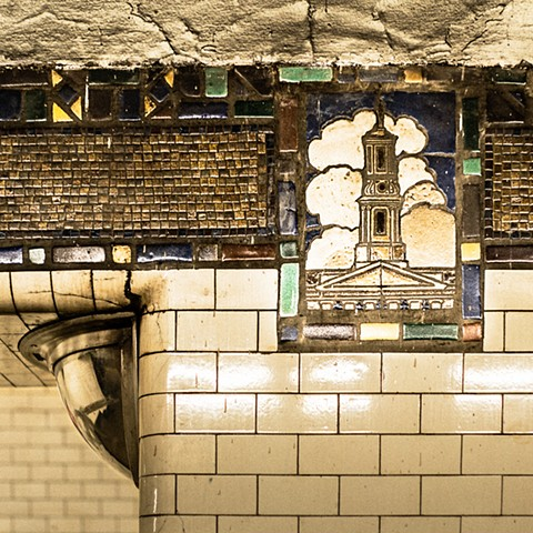 Photography of the Borough Hall Subway Station, Brooklyn, New York, by Judith Ebenstein