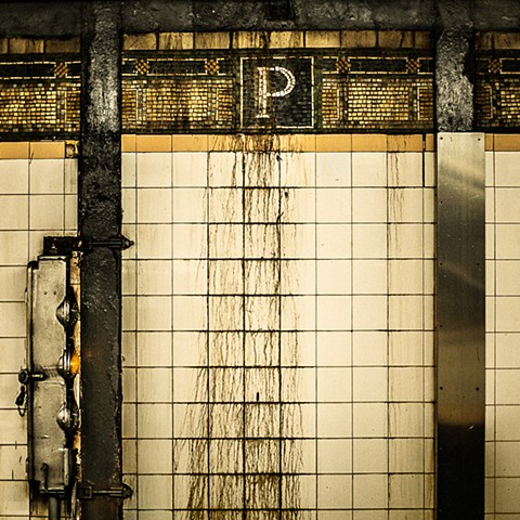 Photography of the Park Place Subway Station, Lines 2, 3, Manhattan, NY, by Judith Ebenstein