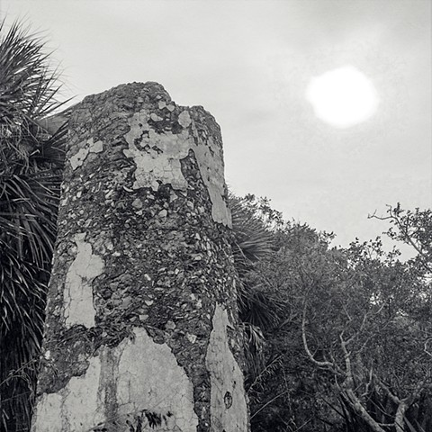 Photograph of Egmont Key, Florida, by Judith Ebenstein