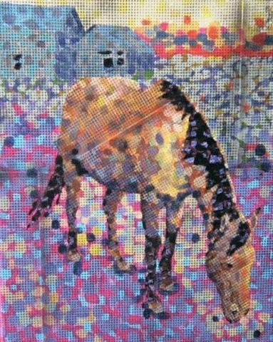Horse, Winter Morning II
