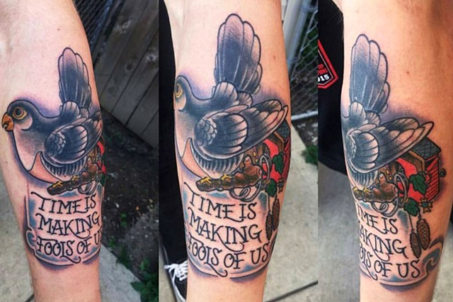 Cukoo Clock Tattoo