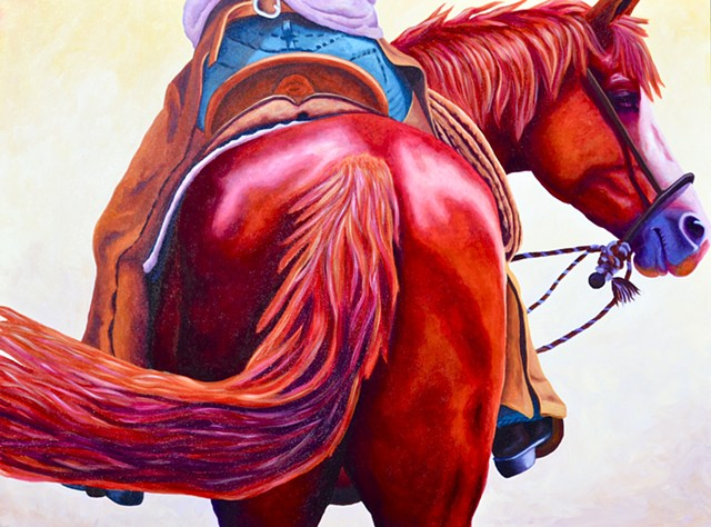 """In Harmony"" from  ""Horses in Motion"" series"