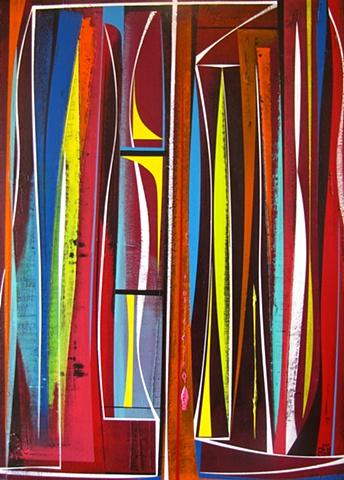 OMNI II hotel art