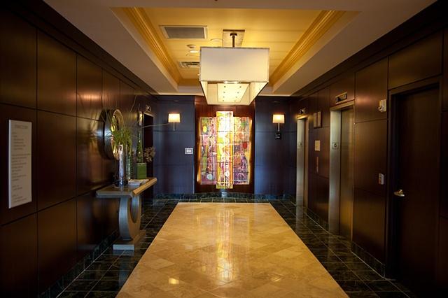 MARRIOTT HOTEL LOBBY