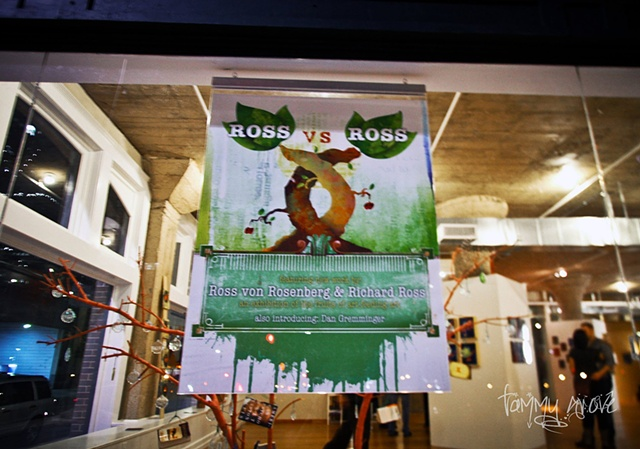 ROSS vs ROSS exhibition