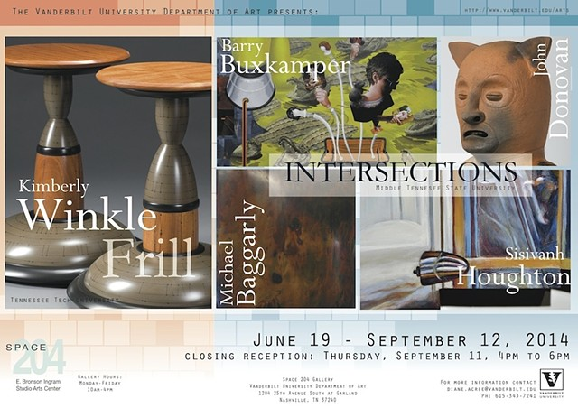 Frill Solo Exhibition Vanderbilt University
