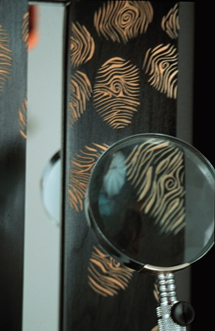 Detail, Fingerprint Mirror