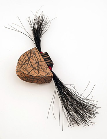 Hairy Brooch