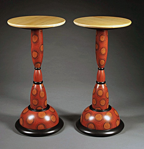 The Cat's Meow Tall Pedestal Tables