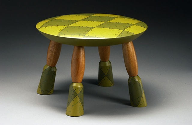 Argyle Sweater Stool
