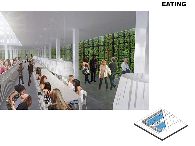 Community Eating Area
