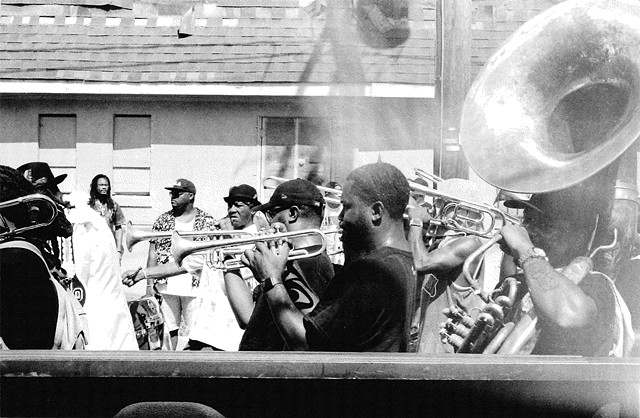 Second Line Steppers 1