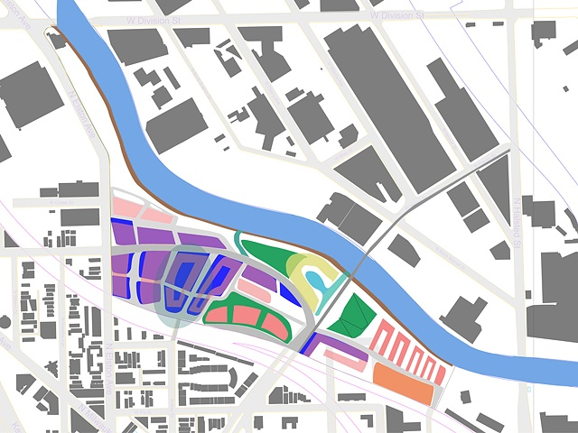 Post-Industrial Urban Site Plan